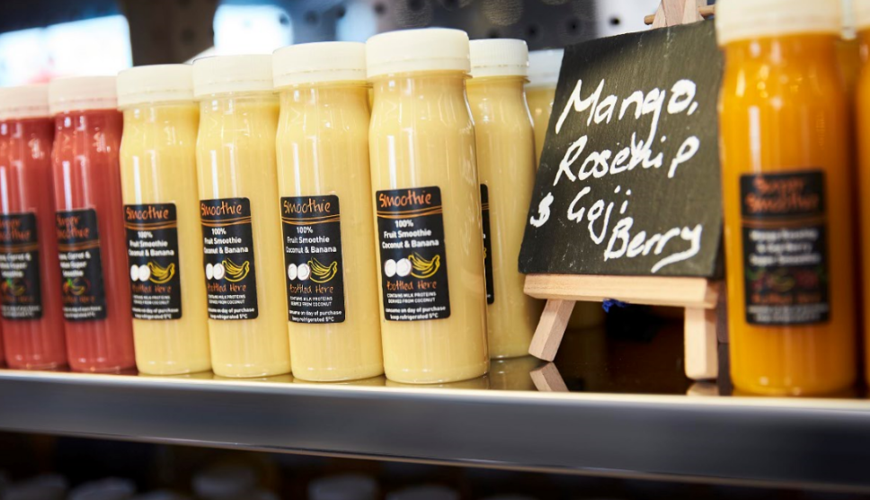 Mango Smoothie Grab n Go Bottles