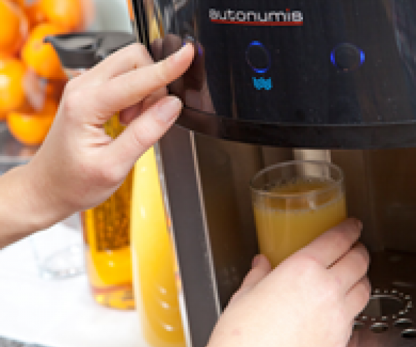 Orange Juice Dispensing Station